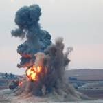Coalition Forces Hit ISIS Near Kobani and Mosul Dam