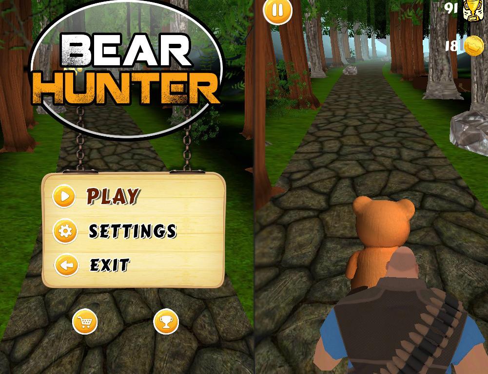 Hunter bear fun