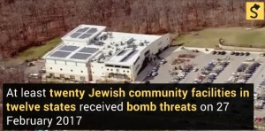 New Bomb Threats to Jewish Community in 12 American States