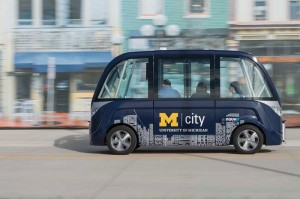 "University of Michigan has Started ""Mcity"" Self-driving Shuttles"