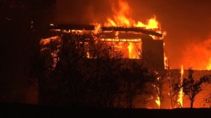 Wildfire Caused Evacuation of Patients from Hospitals in Northern California