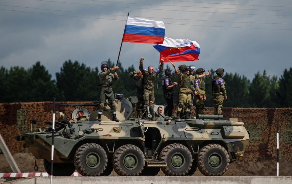 Russia a powerful army