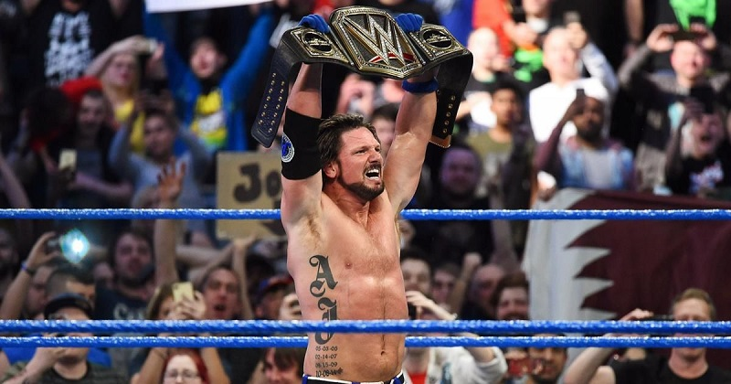 Victory of AJ Styles in WWE Clash Of Champions 2017 Pointing the End of Jinder Mahal